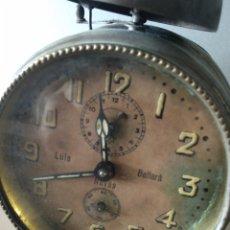 Despertadores antiguos: DESPERTADOR LUIS BALLARA DE NAVAS. Lote 166270554