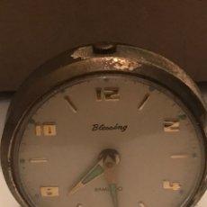 Despertadores antiguos: RELOJ DESPERTADOR BLESSING. Lote 166733694