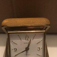 Despertadores antiguos: RELOJ DESPERTADOR DE VIAJE. Lote 166733712