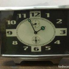Despertadores antiguos: RELOJ DESPERTADOR VINTAGE DE CUERDA. Lote 167126488