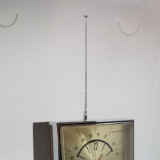 Despertadores antiguos: RELOJ RADIO FM / AM CANDLE MADE IN JAPAN. Lote 167954640