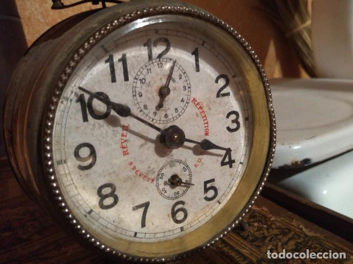 ANTIGUO RELOJ DESPERTADOR FUNCIONA (Relojes - Relojes Despertadores)