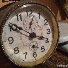 Despertadores antiguos: ANTIGUO RELOJ DESPERTADOR FUNCIONA. Lote 168249308