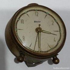 Despertadores antiguos: ANTIGUO RELOJ DESPERTADOR BLESSING PARA REPARAR O DESPIECE . Lote 168511156