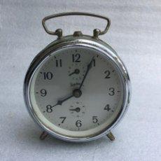Despertadores antiguos: RELOJ DESPERTADOR REGULADORA. Lote 169234884