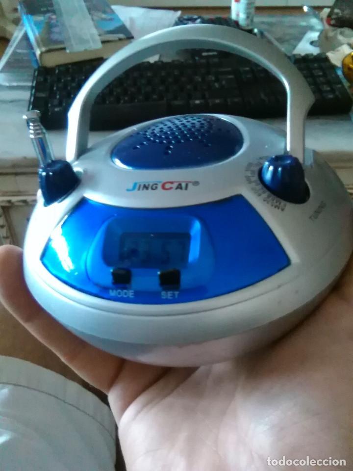 Despertadores antiguos: Reloj despertador con radio - Foto 2 - 169911428