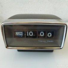 Despertadores antiguos: RELOJ TOKYO TOKEI MODELO 126. Lote 170200712