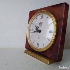 Despertadores antiguos: RELOJ DESPERTADOR JAEGER RECITAL 8 ( NECESITA REPARACIÓN). Lote 170561380