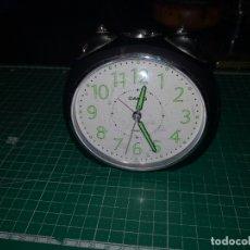 Despertadores antiguos: RELOJ DESPERTADOR CASIO FUNCIONANDO. Lote 171229895