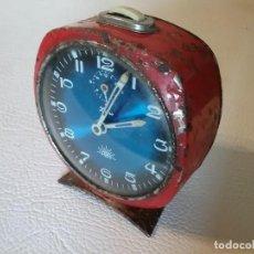 Despertadores antiguos: RELOJ DESPERTADOR ALBA ZAFIRO.. Lote 171764233