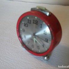 Despertadores antiguos: RELOJ DESPERTADOR GANG 2 JEWELS. Lote 171764543