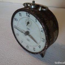 Despertadores antiguos: RELOJ DESPERTADOR ALBA ZAFIRO.. Lote 171764659