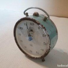 Despertadores antiguos: RELOJ DESPERTADOR ALBA ZAFIRO.. Lote 171764835