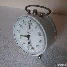 Despertadores antiguos: RELOJ DESPERTADOR WEHRLE. Lote 171805854