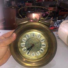 Despertadores antiguos: MAGNIFICO RELOJ DESPERTADOR BLESSING GERMANY FUNCIONA PERFECTAMENTE. Lote 171996288