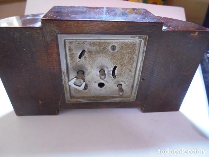 Despertadores antiguos: magnifico antiguo reloj art deco sobre los años 30 - Foto 4 - 172160687