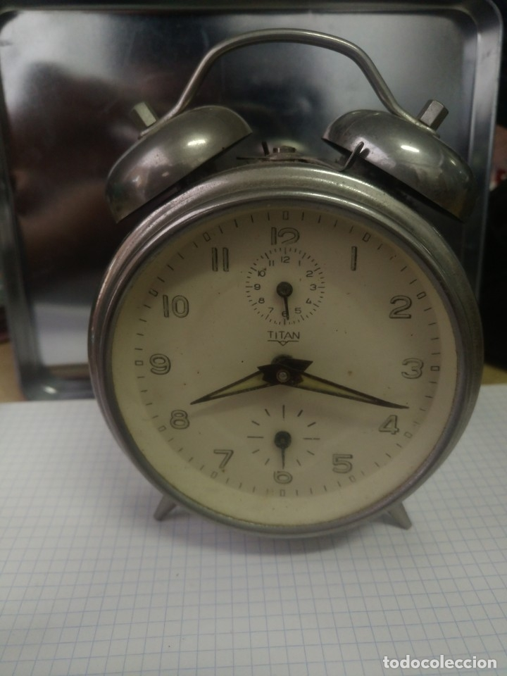 RELOJ DESPERTADOR TITAN (Relojes - Relojes Despertadores)