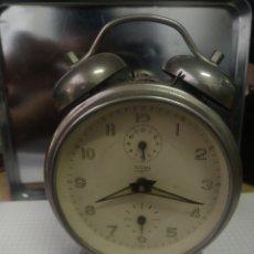 Despertadores antiguos: RELOJ DESPERTADOR TITAN. Lote 172186712