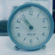 Despertadores antiguos: RELOJ DESPERTADOR GONG. Lote 172186997