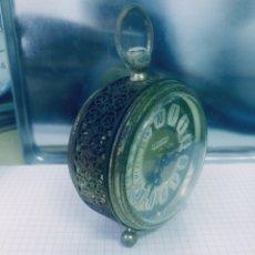Despertadores antiguos: RELOJ DESPERTADOR ALEMAN BLESSING . Lote 172187169