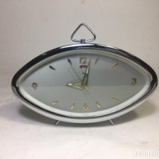 Despertadores antiguos: RELOJ DESPERTADOR DIAMOND SHANGHAI AÑOS 1970`S FUNCIONANDO - LA OPALINA. Lote 172457822