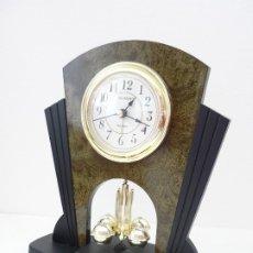 Despertadores antiguos: RELOJ DESPERTADOR SILVAN. Lote 172586190