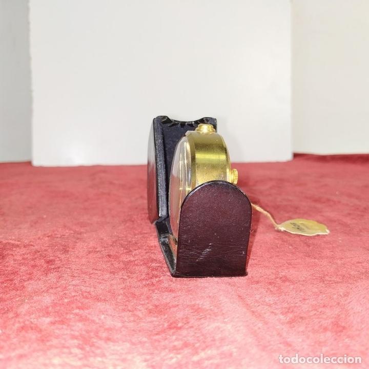 Despertadores antiguos: RELOJ - DESPERTADOR IMHOF. CON ESTUCHE ORIGINAL. REF. CAL. 249. 53/150. 1374638. SUIZA. XX - Foto 3 - 172842918