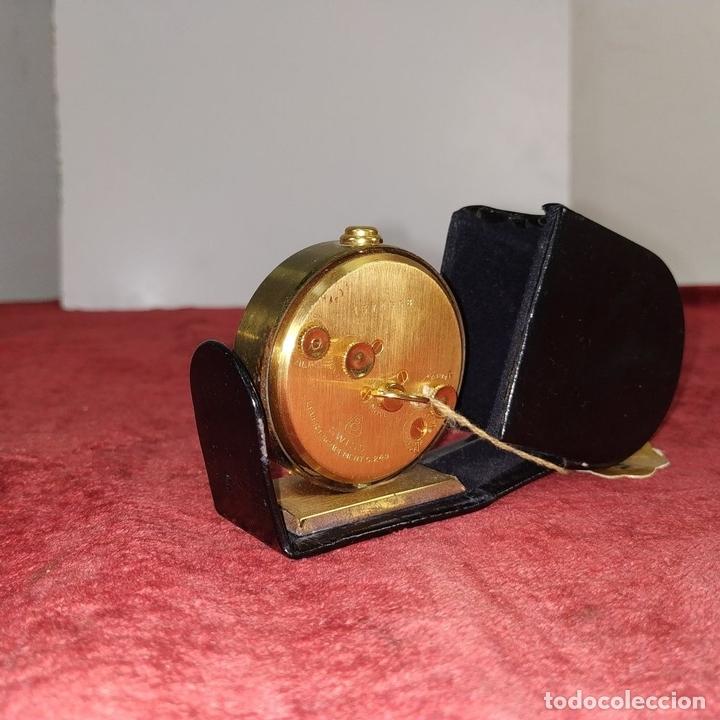 Despertadores antiguos: RELOJ - DESPERTADOR IMHOF. CON ESTUCHE ORIGINAL. REF. CAL. 249. 53/150. 1374638. SUIZA. XX - Foto 4 - 172842918
