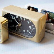 Despertadores antiguos: 3 RELOJES DESPERTADORES. Lote 174404483