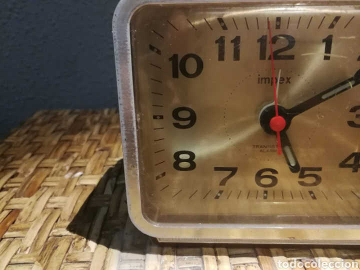 Despertadores antiguos: Lote de despertadores vintage marcas impex, dille, yins - Foto 2 - 174897143