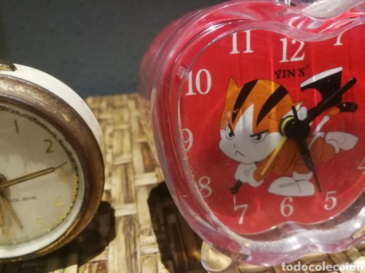 Despertadores antiguos: Lote de despertadores vintage marcas impex, dille, yins - Foto 3 - 174897143