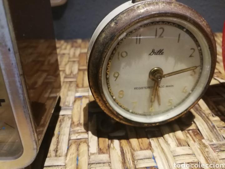 Despertadores antiguos: Lote de despertadores vintage marcas impex, dille, yins - Foto 4 - 174897143