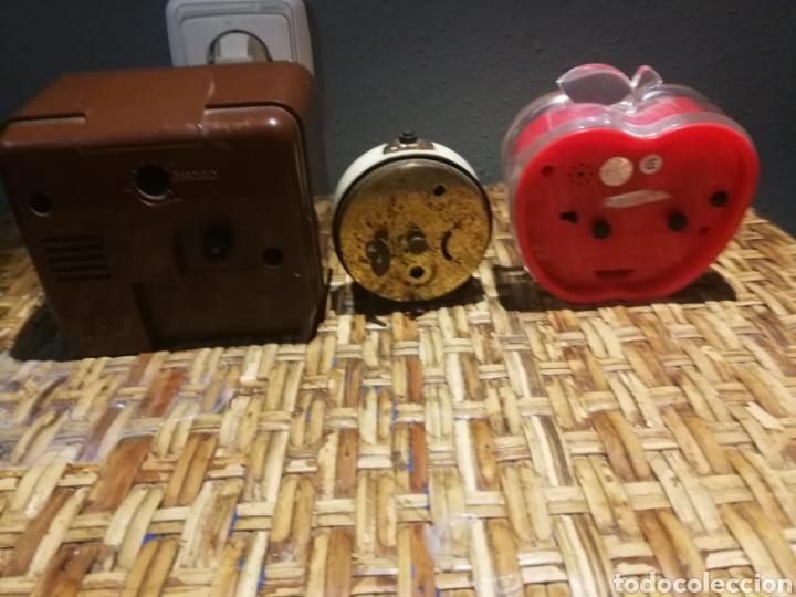 Despertadores antiguos: Lote de despertadores vintage marcas impex, dille, yins - Foto 5 - 174897143