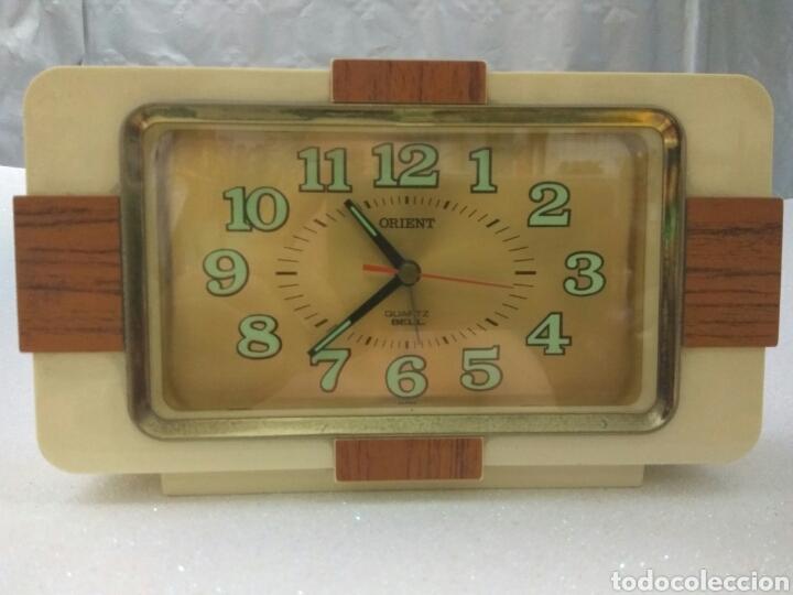 RELOJ DESPERTADOR ORIENT QUARTZ BELL (Relojes - Relojes Despertadores)