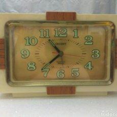 Despertadores antiguos: RELOJ DESPERTADOR ORIENT QUARTZ BELL. Lote 175061127