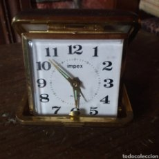Despertadores antiguos: RELOJ DE VIAJE CON ALARMA. Lote 175183394