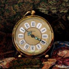Despertadores antiguos: DESPERTADOR VINTAGE ALEMÁN DALAMAL. Lote 175588150