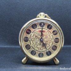 Despertadores antiguos: RELOJ DESPERTADOR DE JAPON AÑOS 1950 MARCA RHYTHM . Lote 176048777