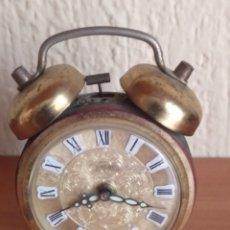 Despertadores antiguos: ANTIGUO DESPERTADOR PETER MADE IN GERMANY. Lote 176464774