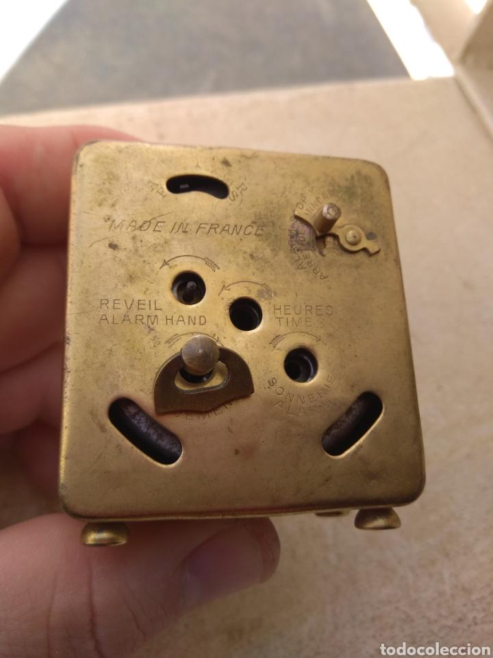 Despertadores antiguos: Antiguo Reloj Despertador Francés DEP - Leer Descripción - - Foto 7 - 176688267