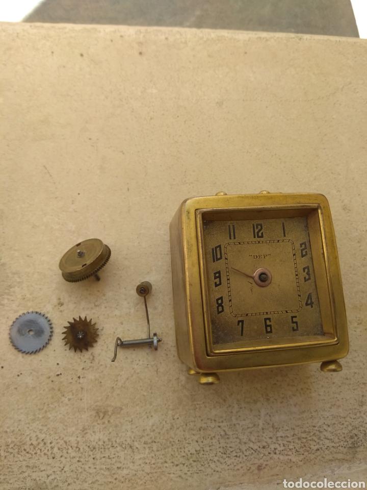 Despertadores antiguos: Antiguo Reloj Despertador Francés DEP - Leer Descripción - - Foto 10 - 176688267