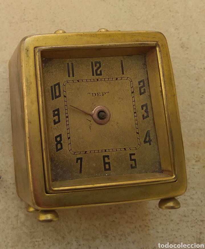 Despertadores antiguos: Antiguo Reloj Despertador Francés DEP - Leer Descripción - - Foto 11 - 176688267