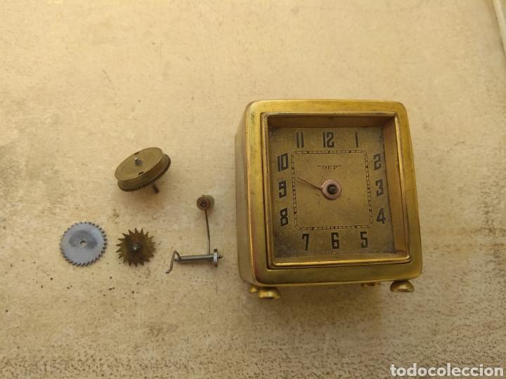 ANTIGUO RELOJ DESPERTADOR FRANCÉS DEP - LEER DESCRIPCIÓN - (Relojes - Relojes Despertadores)