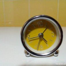 Despertadores antiguos: RELOJ MINIATURA DESPERTADOR . Lote 177089293