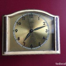 Despertadores antiguos: RELOJ DE MESILLA MARCA MAUTHE. Lote 177661788