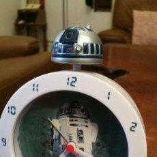 Réveils anciens: STAR WARS - R2-D2 - R2D2 - CON LUZ Y SONIDO - LICENCIA OFICIAL - SEMI NUEVO. Lote 177949857
