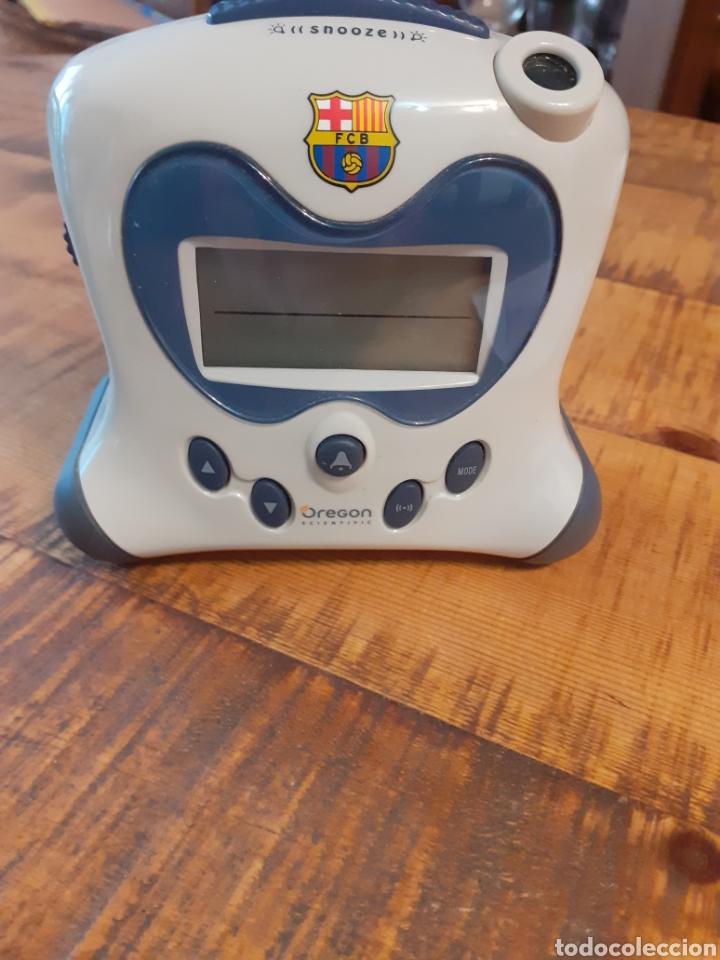 Despertadores antiguos: BARCELONA FC - RELOJ DESPERTADOR - Foto 8 - 178769761