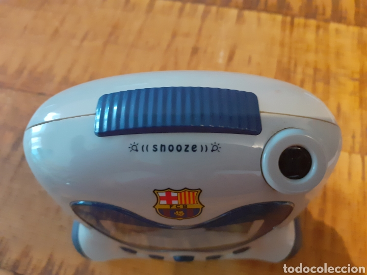 Despertadores antiguos: BARCELONA FC - RELOJ DESPERTADOR - Foto 10 - 178769761