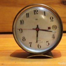 Despertadores antiguos: RELOJ DESPIERTADOR CHINO. Lote 178798635