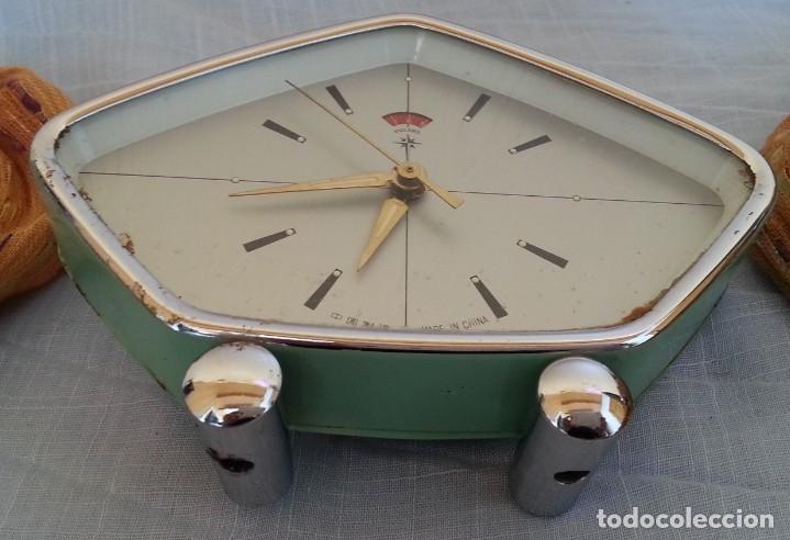 Despertadores antiguos: Reloj despertador. Marca Polaris. Años 80 - Foto 5 - 178963508